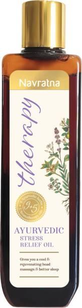 Navratna Therapy Ayurvedic Stress Relief Oil Hair Oil
