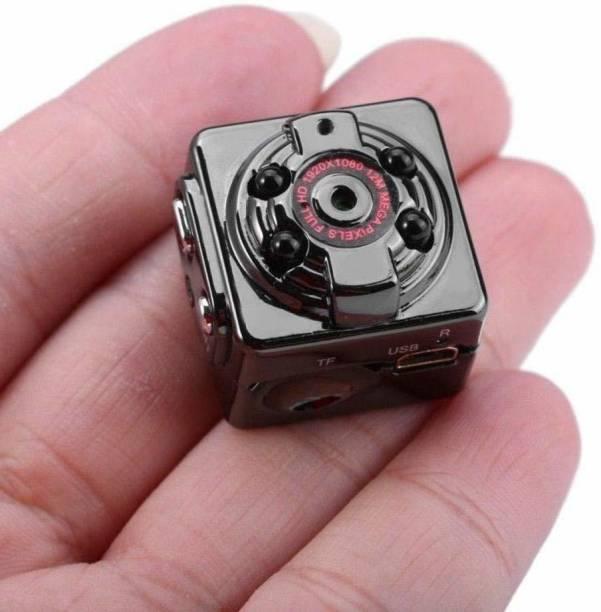 JRONJ miniSmart Secret Spy Camera Mini HD SQ8 Wireless Hidden 1080P Smallest Body Spy Camera, 12 MP, Convert Security Nanny Cam with Night Vision (No WiFi)-UTK21 Security Camera