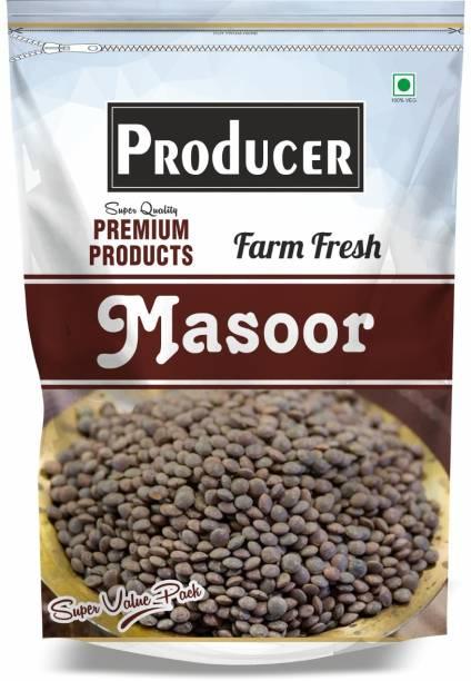 PRODUCER Black Masoor Dal (Whole) (Black Masoor Whole, Sabut Kali Masoor, black Lentils Gram)