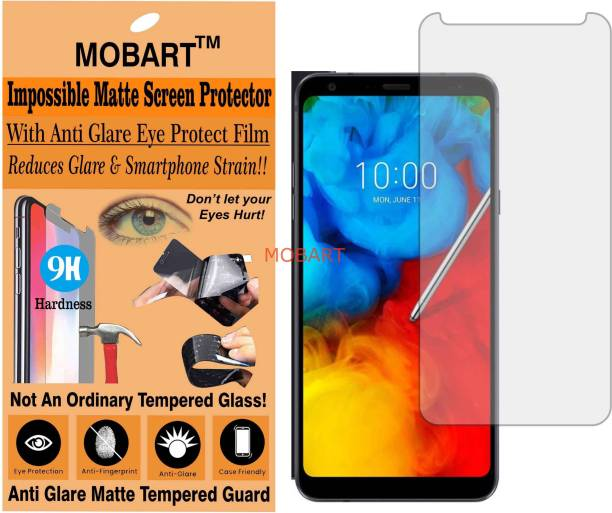 MOBART Impossible Screen Guard for LG Q STYLUS ALPHA (Flexible Matte)