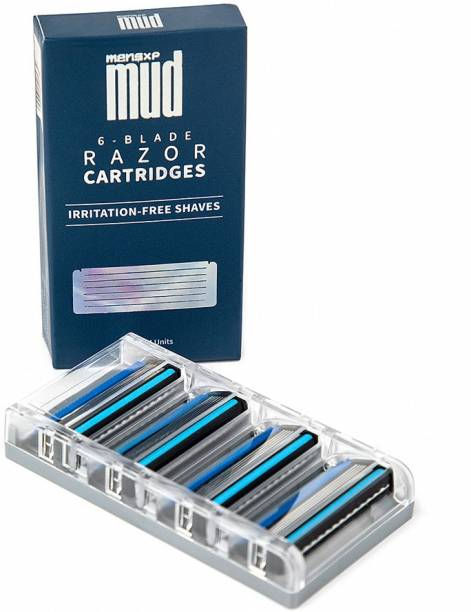 MensXP Mud 6-Blade Razor Cartridges