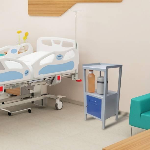 Laxmi kapat Rectangular Multipurpose Bed Side Table/ Corner Table Steel Bedside Table