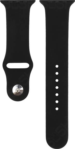 Sosh Premium Quality soft Silicone Candy Color Replacement Strap Band (38-40mm) Smart Watch Strap