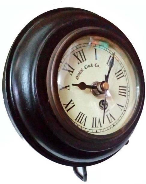 Tora Creations Analog Black Clock