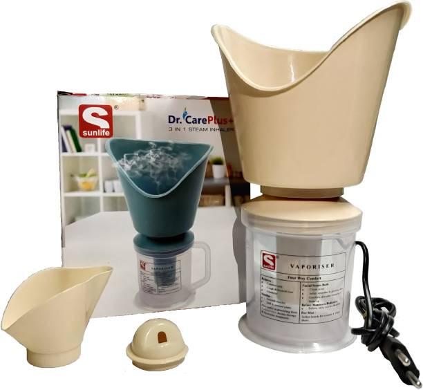 SUNLIFE - Dr.Care Plus+ - 3 in 1 Steam Inhaler - Beige Color Vaporizer