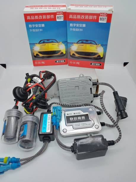 CSGLARE CS Glare Car HID 55W 8000K White Xenon High Power Headlight Conversion Kit (H8/H11/H16-8000K/55W) Vehical HID Kit