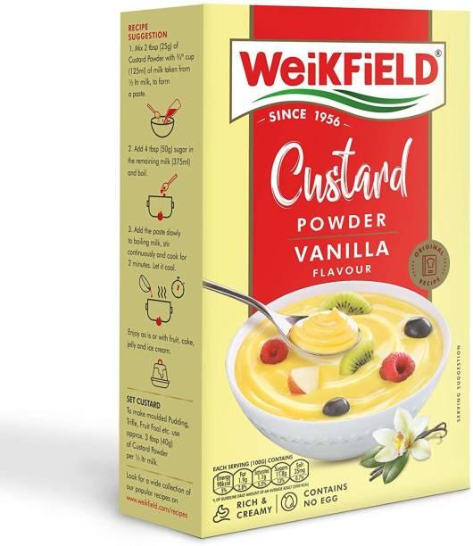 WeiKFiELD Custard Powder Vanilla Flavour 100 Gram Custard Powder