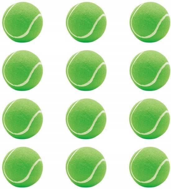 RSE GREEN COTTON TENNIS BALL PACK OF 12 Tennis Ball