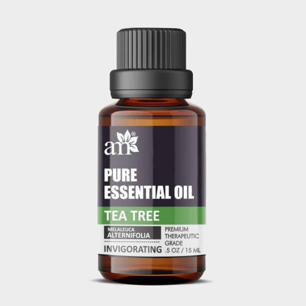 aromamusk 100% Natural Tea Tree - Invigorating - Melaleuca Alternifolia Essential Oil