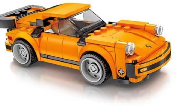 Little Joy 185 PCS Racing Car Model Block Set Construction Learning Toy for Kids