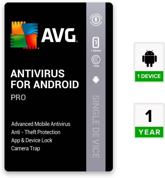 AVG AV10009 1 Mobile 1 Year Mobile Security (Email Delivery - No CD)