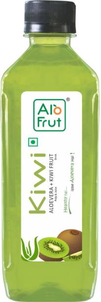 ALOFRUT Kiwi Aloevera Juice (160 ml)_Pack_of_60   Healthy Hai Isme Aloevera Hai   Ready To Serve Drink
