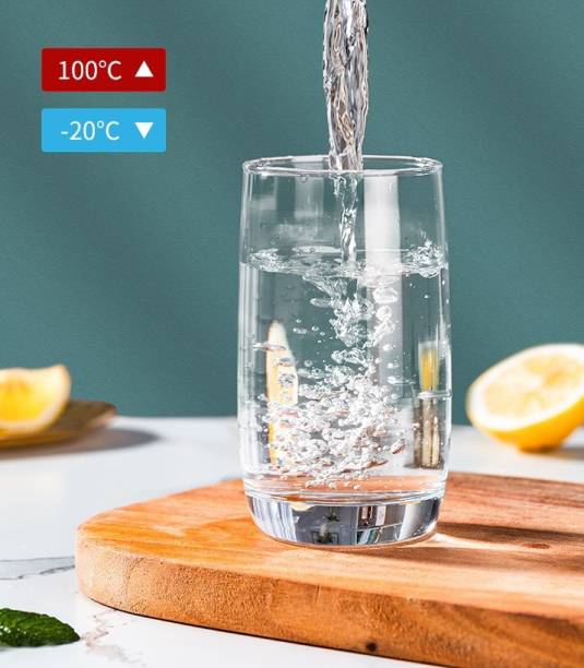 green kivvi (Pack of 6) ES5303 DELI LIGHTWEIGHT GLASS Glass Set