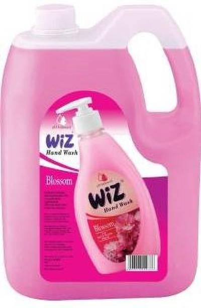 Wiz pH-Balance Extra Moisturizing Blossom Liquid Handwash Give Complete Protection for Soft & Gentle Hands, Refill Pack Hand Wash Can