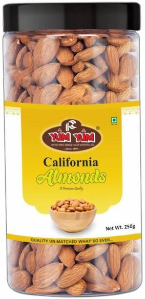 YUM YUM Premium California Almond Badam 250 Almonds