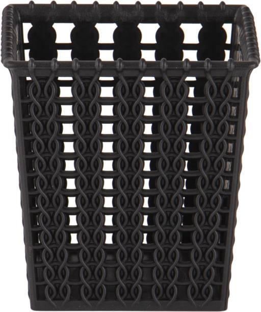 POLYSET PLASTIC SMALL MARVEL BASKET NO.5 BLACK Storage Basket