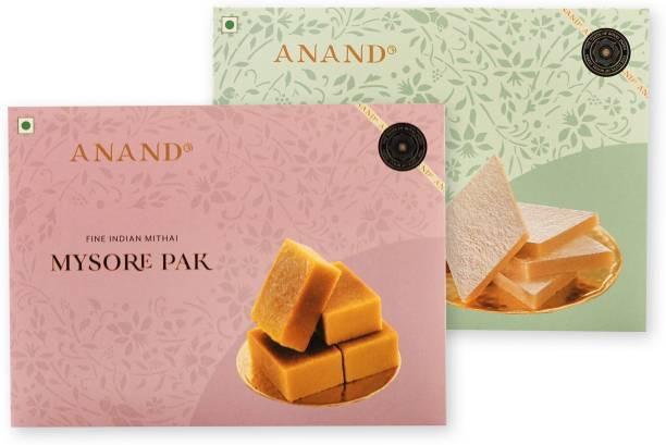 Anand Mysore Pak and Kaju Katli Combo Box