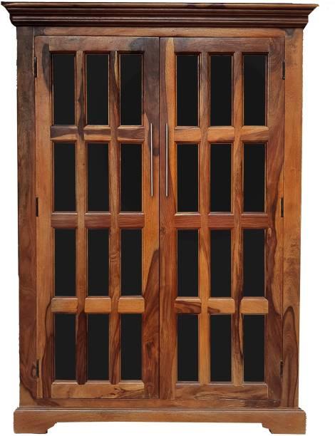 THE ATTIC Solid Wood 2 Door Almirah