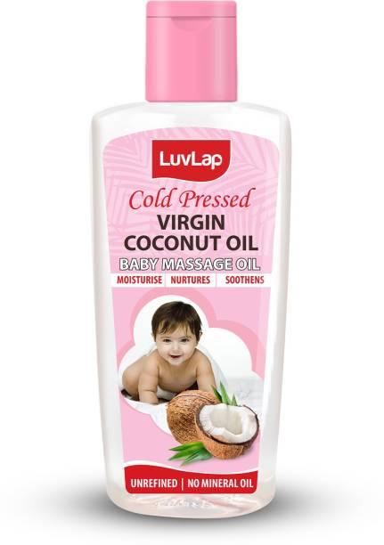 LuvLap Cold Press Virgin Coconut Baby Massage Oil 100ml