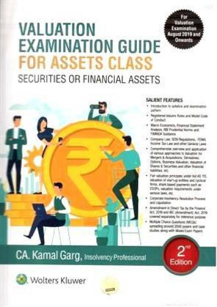 Valuation Examination Guide For Assets Class Securities For Financial Assets 2nd Edition 2019