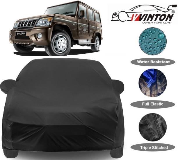 V VINTON Car Cover For Mahindra Bolero SLX (With Mirror Pockets)