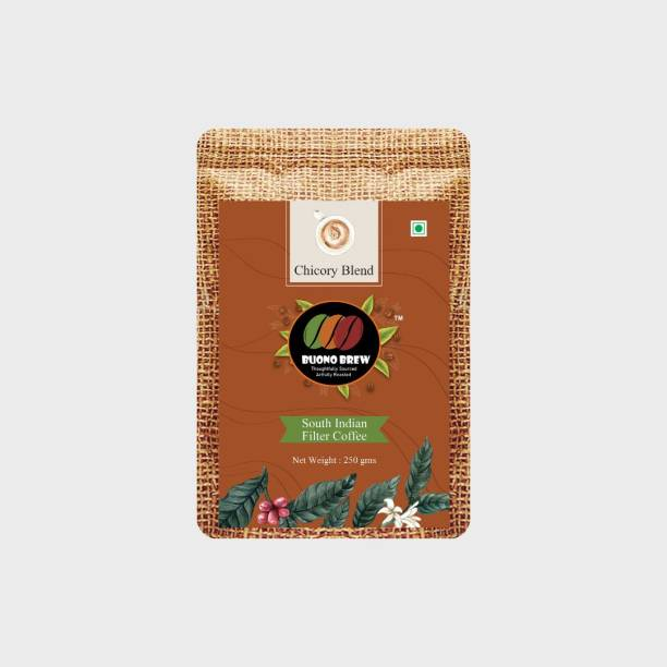 buonobrew South Indian Filter Coffee - Chicory Blend (70% Arabica, Robusta & 30% Chicory) Filter Coffee