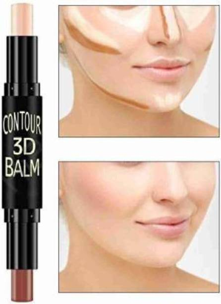 FUFA SUPER 3D CONTOUR CONCEALER HIGHLIGHTER STICK WITH GLAMOROUS GLOW SKIN Concealer (SKIN COLOR, 6.2 g) Concealer