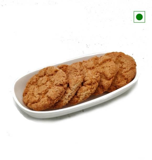 Biskutwala Old Delhi's Special Eggless Honey Oats Jumbo Biscuit Cookies Cookies