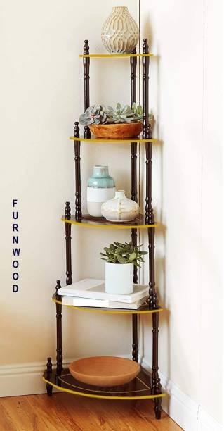 FURNWOOD Engineered Wood Corner Table