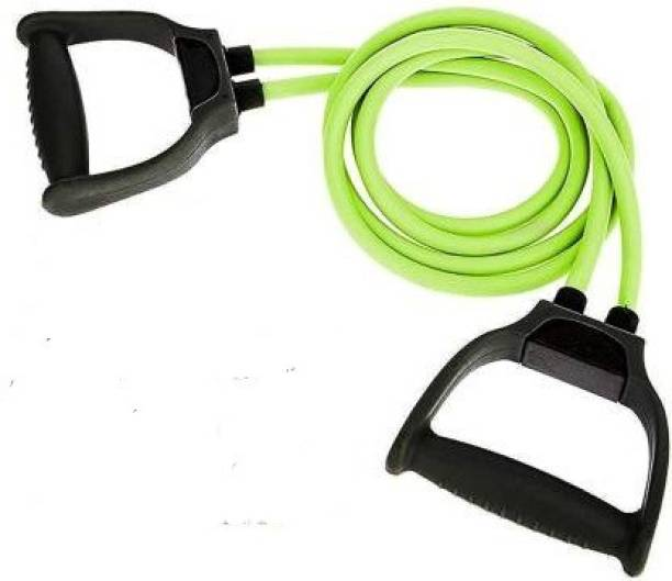 EMMKITZ Double Resistance Band | 6 Body Parts of Muscles to (GREEN) Resistance Band