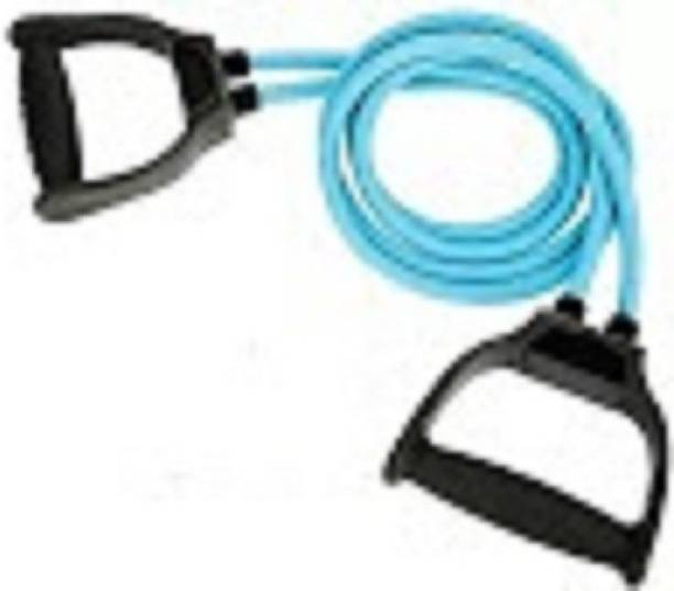 EMMKITZ Double Resistance Band   6 Body Parts of Muscles to (BLUE) Resistance Band