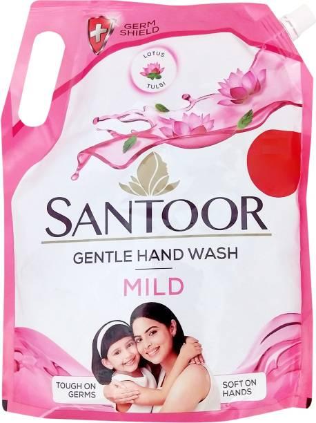 santoor Mild Hand Wash Refill Pouch