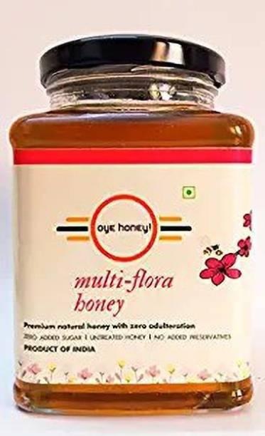 Oye Multi-Flora Honey 500 Grams Glass Jar (Pack of 1)