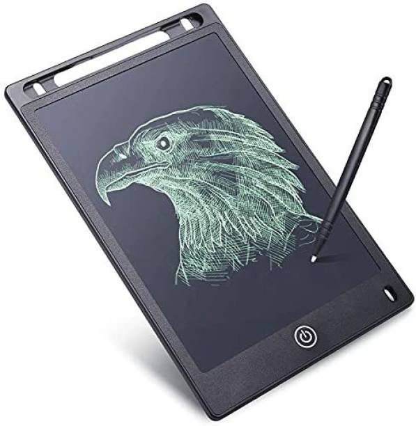 """ARONET Portable 8.5"""" Re-Writable LCD E-Pad, Paperless E-Writer with Stylus, Digital Notepad for Drawing, Playing, Handwriting Tab"""