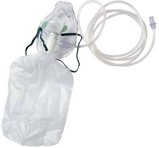 ApexCare High Concentration Oxygen Face Mask with Reservoir Bag and Tube for adult