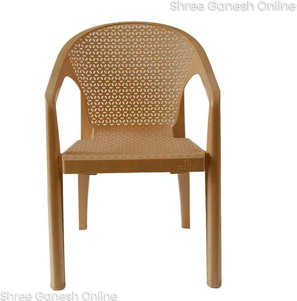ITALICA (SHREE GANESH ONLINE) original seller 5202 Oxy Series Modern Stackable Plastic Armchairs Plastic Outdoor Chair