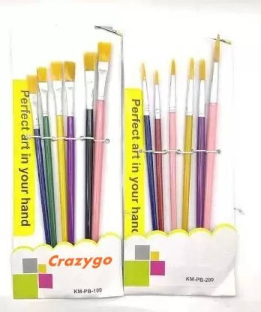 CRAZYGOL Colours for Painting/Kids/Colour Paints/Drawing for Kids Pack of 12