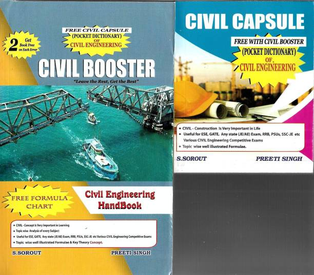 Civil Booster Latest-2021 Get 2 Book Free On Each Error, Free Formula Chart