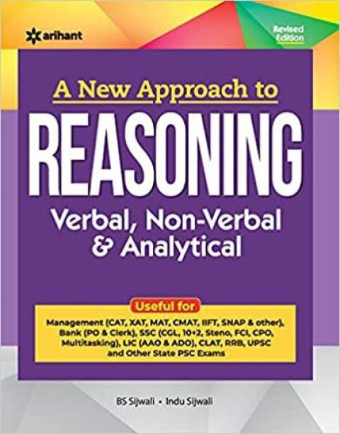 A New Approach To REASONING Verbal , Non-Verbal & Analytical 2022