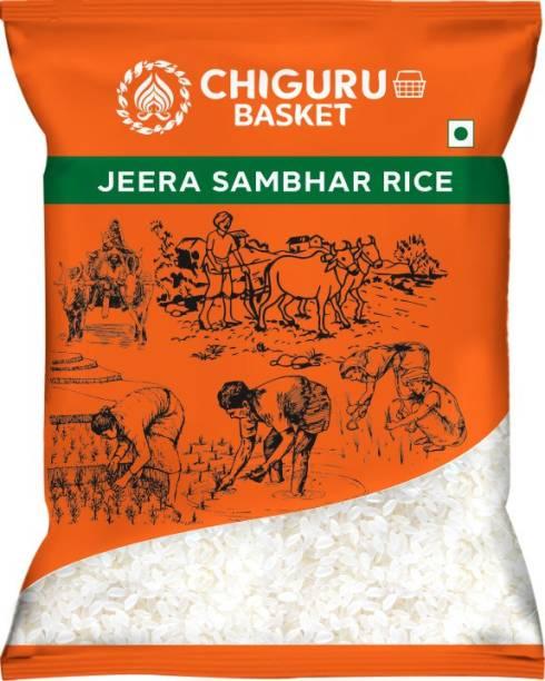 Chiguru basket Jeera Jeera Samba Rice (Small Grain, Polished)