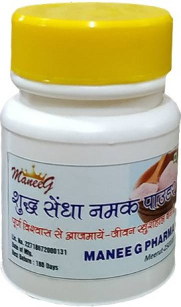 Manee G Pharma Shudh Sendha Namak - Rock salt Rock Salt