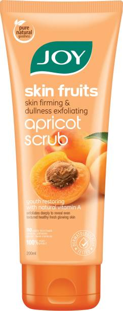 Joy Skin Fruits Skin firming and Dullness Exfoliating Apricot Scrub