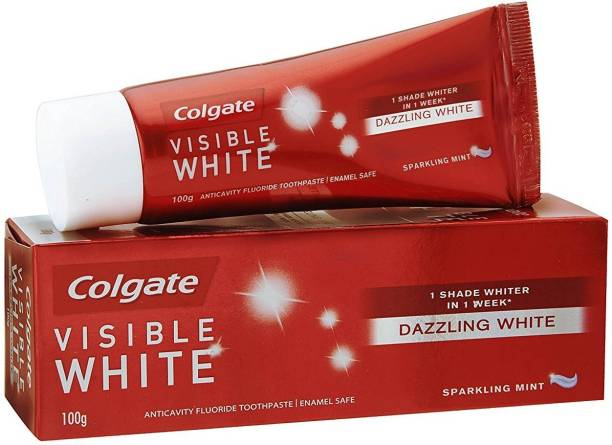 Colgate Visible white 100g (Pack of 3) Toothpaste