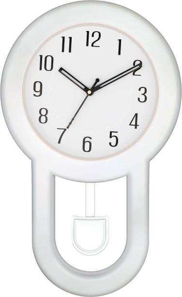 Art Amori Analog 42 cm X 25 cm Wall Clock