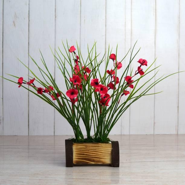 Flipkart SmartBuy Pink Wild Flower Artificial Flower  with Pot