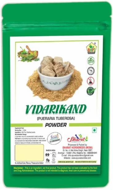 Bhpi Bharat Vidarikand Powder | Original Ayurvedic Churna | Bidharkand Powder