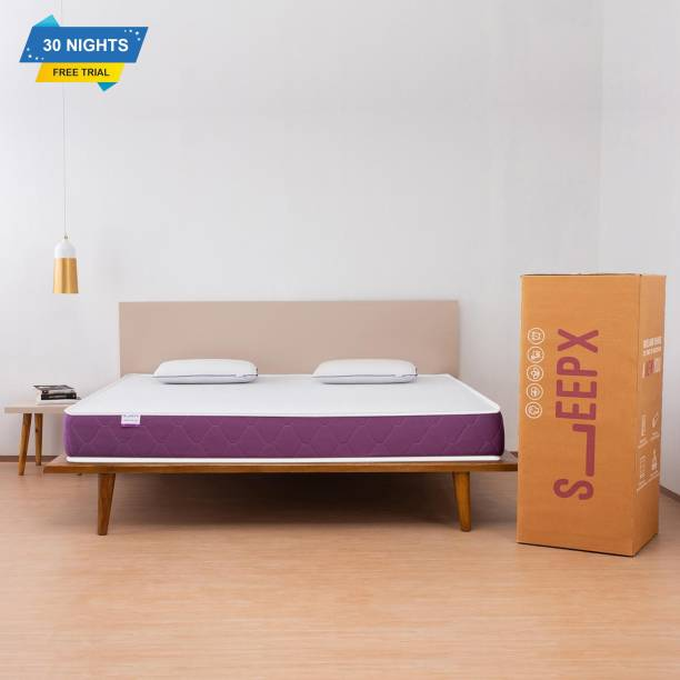 SleepX Ortho 6 inch King Memory Foam Mattress