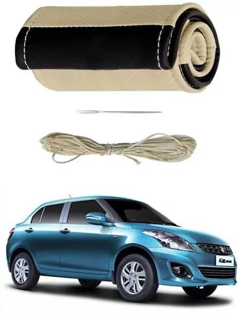 s mangalam Hand Stiched Steering Cover For Hyundai Civic, Swift Dzire, Santro, Creta, Baleno, Kwid, Celerio, New City, New Dzire, New Swift, Renault, Santro Xing, WagonR, i20, Jazz, Bolt