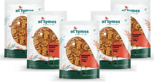Ol'tymes Tomato Banana Flavour (100gm) Chips