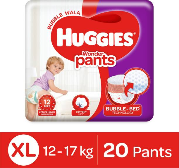 Huggies Wonder Pants with Bubble Bed Technology - XL